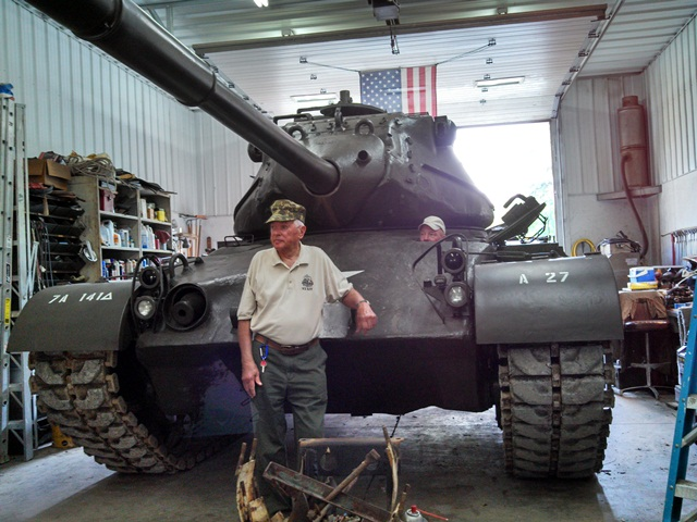 Fred & Skip firing up M47