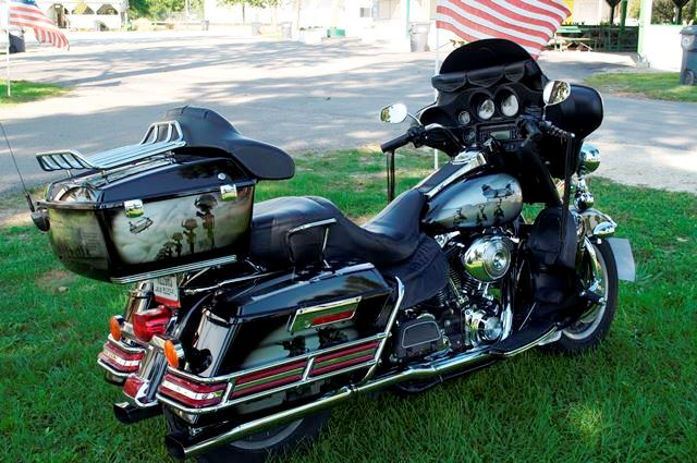 Military tribute bike.